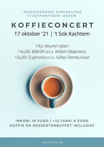 Koffieconcert Euphonia en BBKSFI 17/10/2021