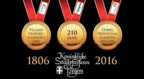 Uitnodiging voor het jubileumconcert naar aanleiding van jubileumconcert 210 jaar KSFI