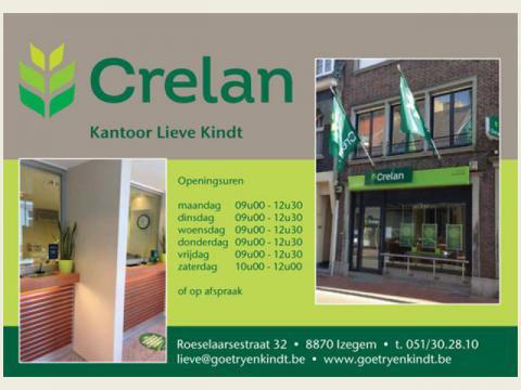 Logo Crelan Kantoor Lieve Kindt