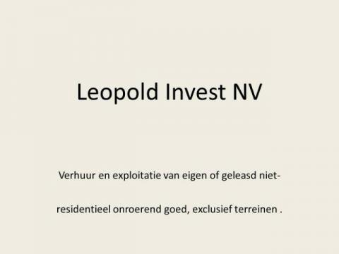 Logo Leopold Invest NV