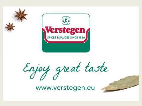 Logo Verstegen Spices & Sauces