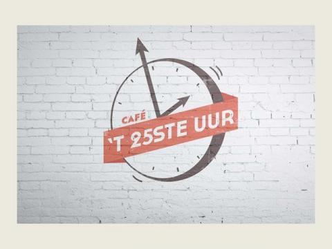 Logo Café 't 25ste uur