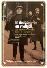 Affiche van de cultuurwandeling 2018 Stad Izegem