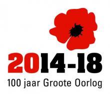 Logo 100 jaar Groote Oorlog
