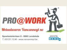 Logo Vancanneyt Metaalwaren NV