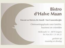 Logo Bistro d'Halve Maan