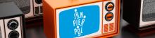 Het logo van het programma: Jan Pier en Pol, zender Focus WTV