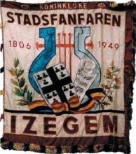 Vlag Koninklijke Stadsfanfaren 1949